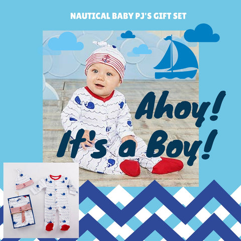 Nautical Baby Boy Shower Gift