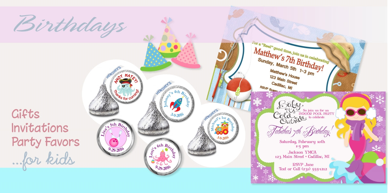 Kids Birthday Party Favors and Gifts