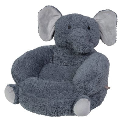Plush Elephant Children's Chair