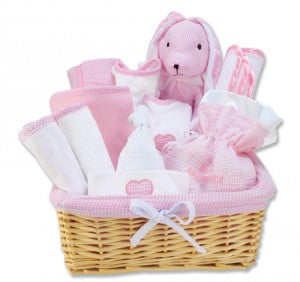 Little Girls Pink Plush Bunny Chair (#TL103408)