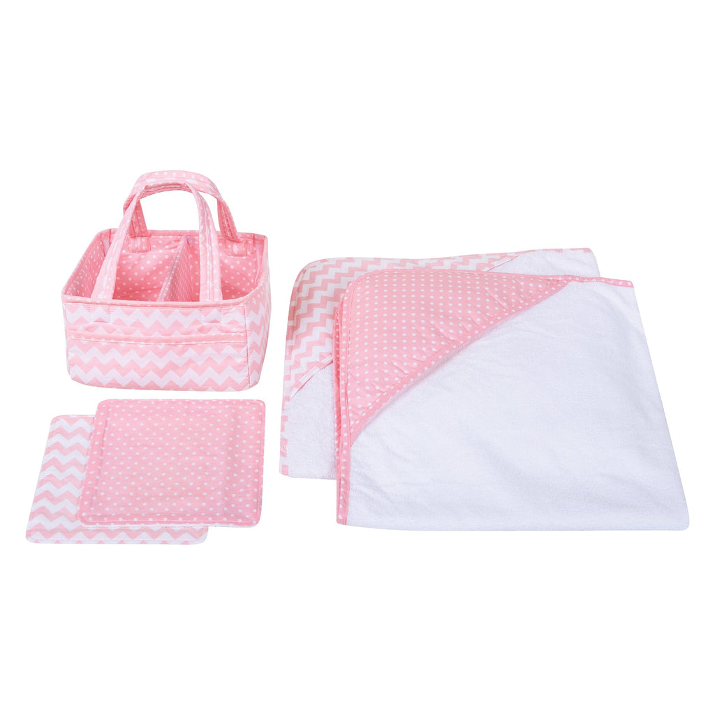 Pink Sky 5 Piece Baby Care Gift Set (#TL207)