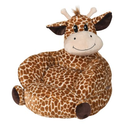 Children's Plush Cow Character Chair (#TL103401)