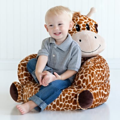 Children's Plush Giraffe Character Chair (#TLP102667)