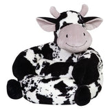 Plush Cow Character Chair