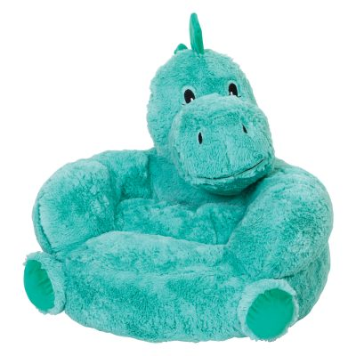 Plush Check Moose Character Chair (#TLP103410)