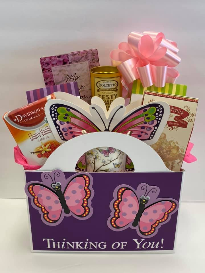 Butterfly Kisses For Mom Gift Box