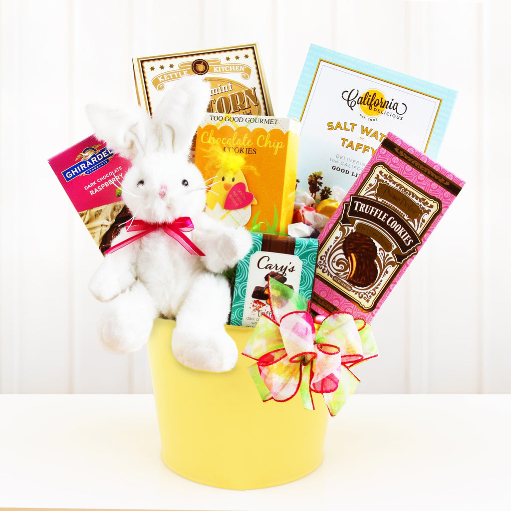 Sweet Easter Bunny Basket (#GC62)