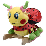 Ladybug Musical Toy Rocker (#RB14) - Stork Baby Gift Baskets - 1