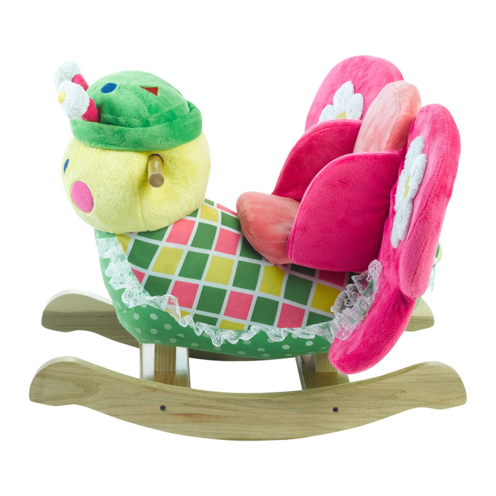Bonita Butterfly Baby Musical Toy Rocker (#RB5) - StorkBabyGiftBaskets - 4