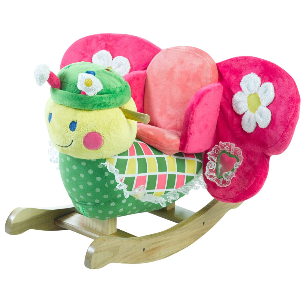 Bonita Butterfly Baby Musical Toy Rocker (#RB5) - StorkBabyGiftBaskets - 1