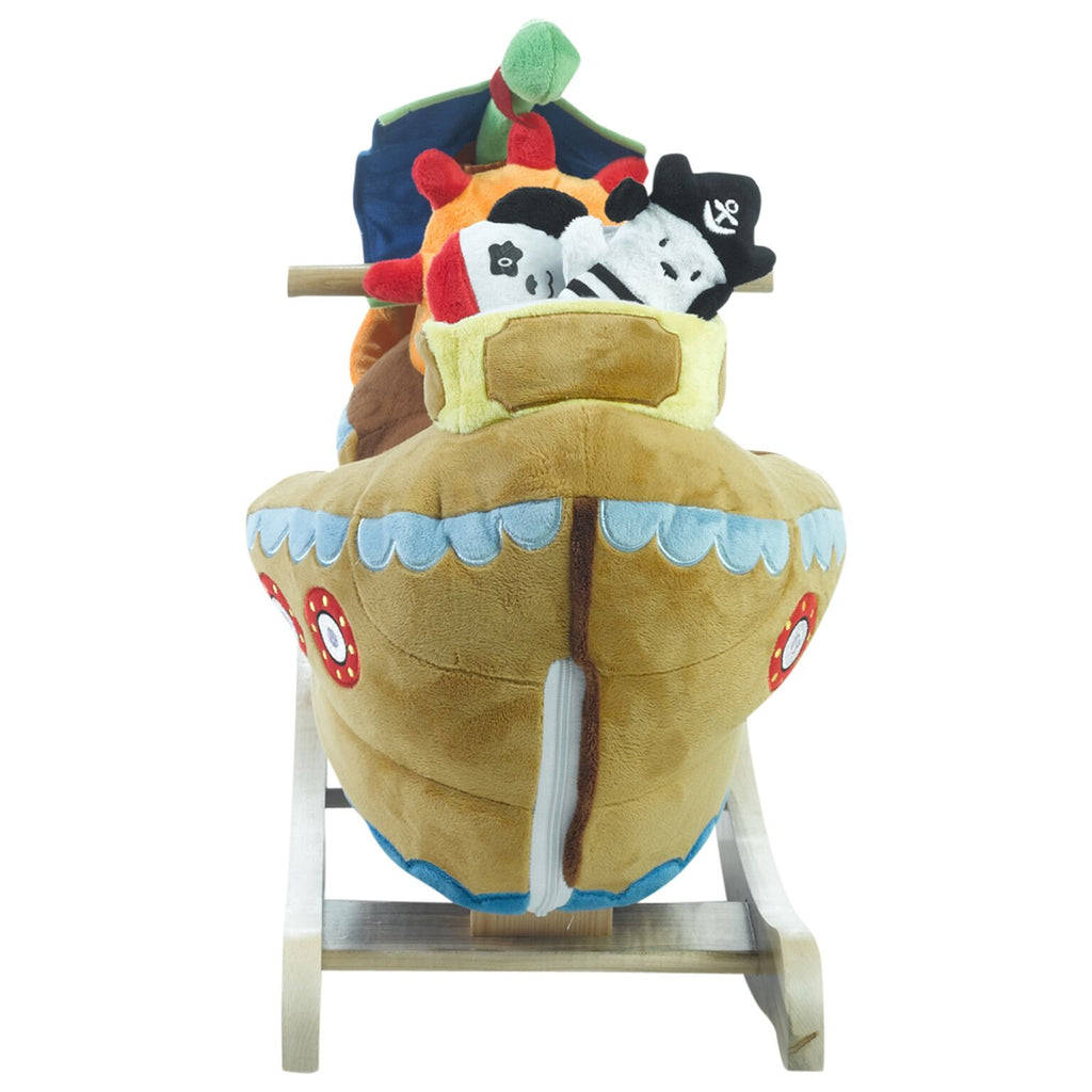 Ahoy Doggie Pirate Ship Play and Rock (#RB39) - StorkBabyGiftBaskets - 5