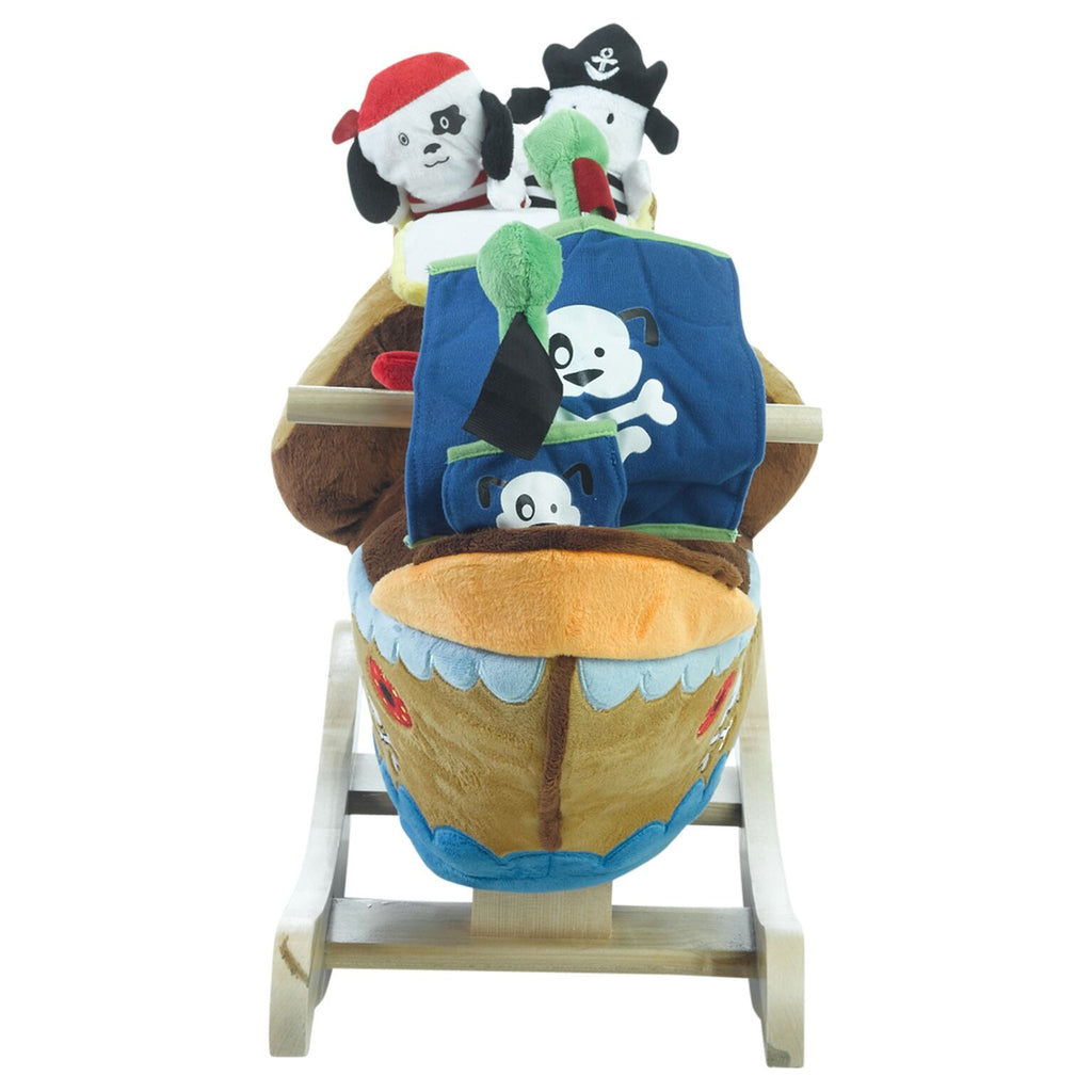 Ahoy Doggie Pirate Ship Play and Rock (#RB39) - StorkBabyGiftBaskets - 4