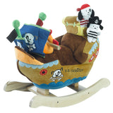 Ahoy Doggie Pirate Ship Play and Rock (#RB39) - StorkBabyGiftBaskets - 1