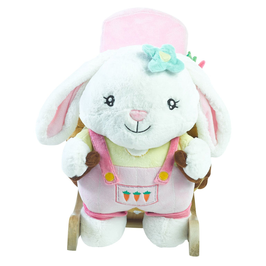 Beatrice Bunny Rocking Toy (#RB3) - StorkBabyGiftBaskets - 2