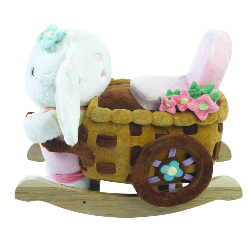 Beatrice Bunny Rocking Toy (#RB3) - StorkBabyGiftBaskets - 5