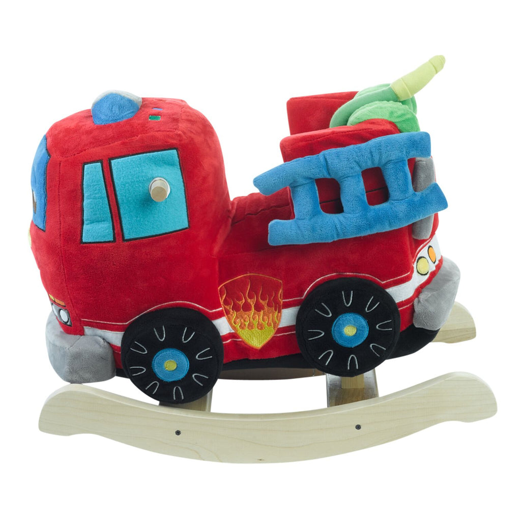 Firefighter Play And Rock (#RB30) - StorkBabyGiftBaskets - 3