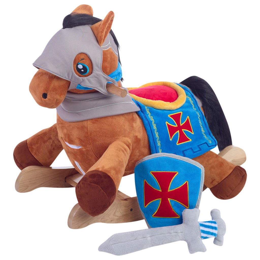 Knights Horse Play and Rock Gift Set (#RB26)