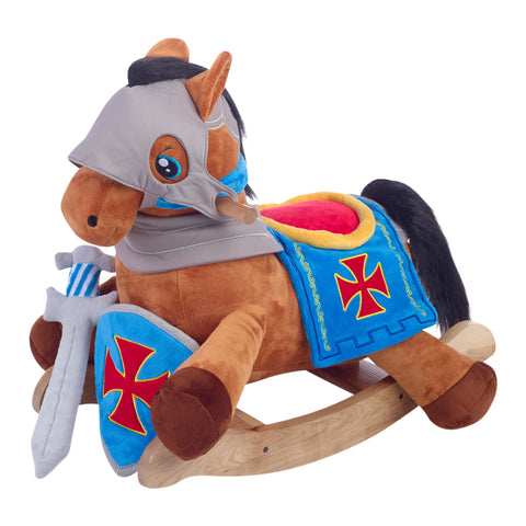 Beautiful Baby Boy Rocking Horse & Layette Collection (#BGC324)