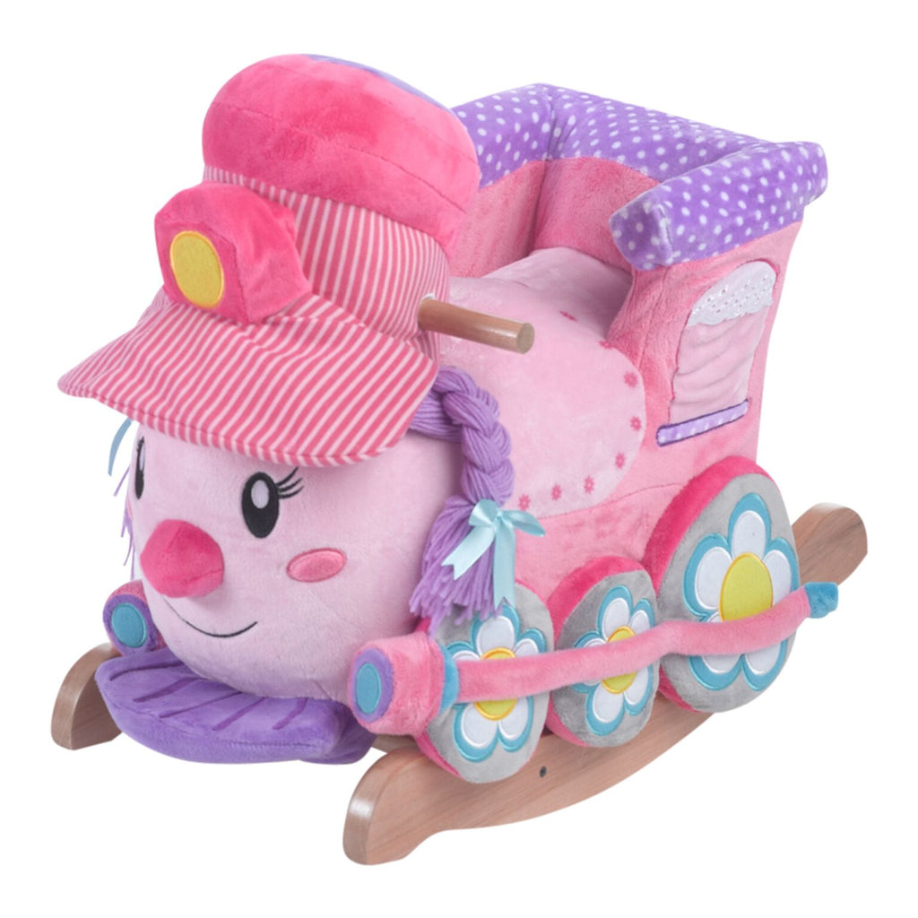 Jane the Train Play and Rock (#RB11) - StorkBabyGiftBaskets - 1