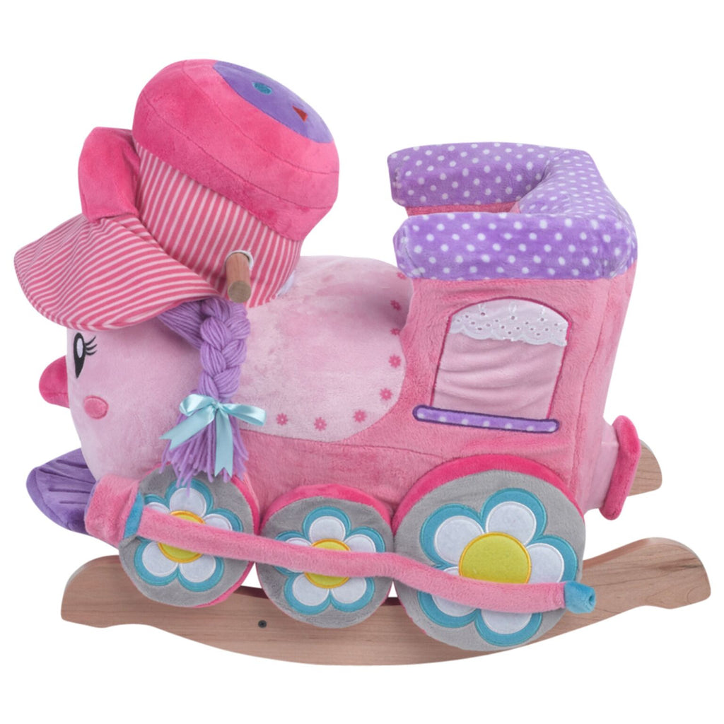 Jane the Train Play and Rock (#RB11) - StorkBabyGiftBaskets - 4
