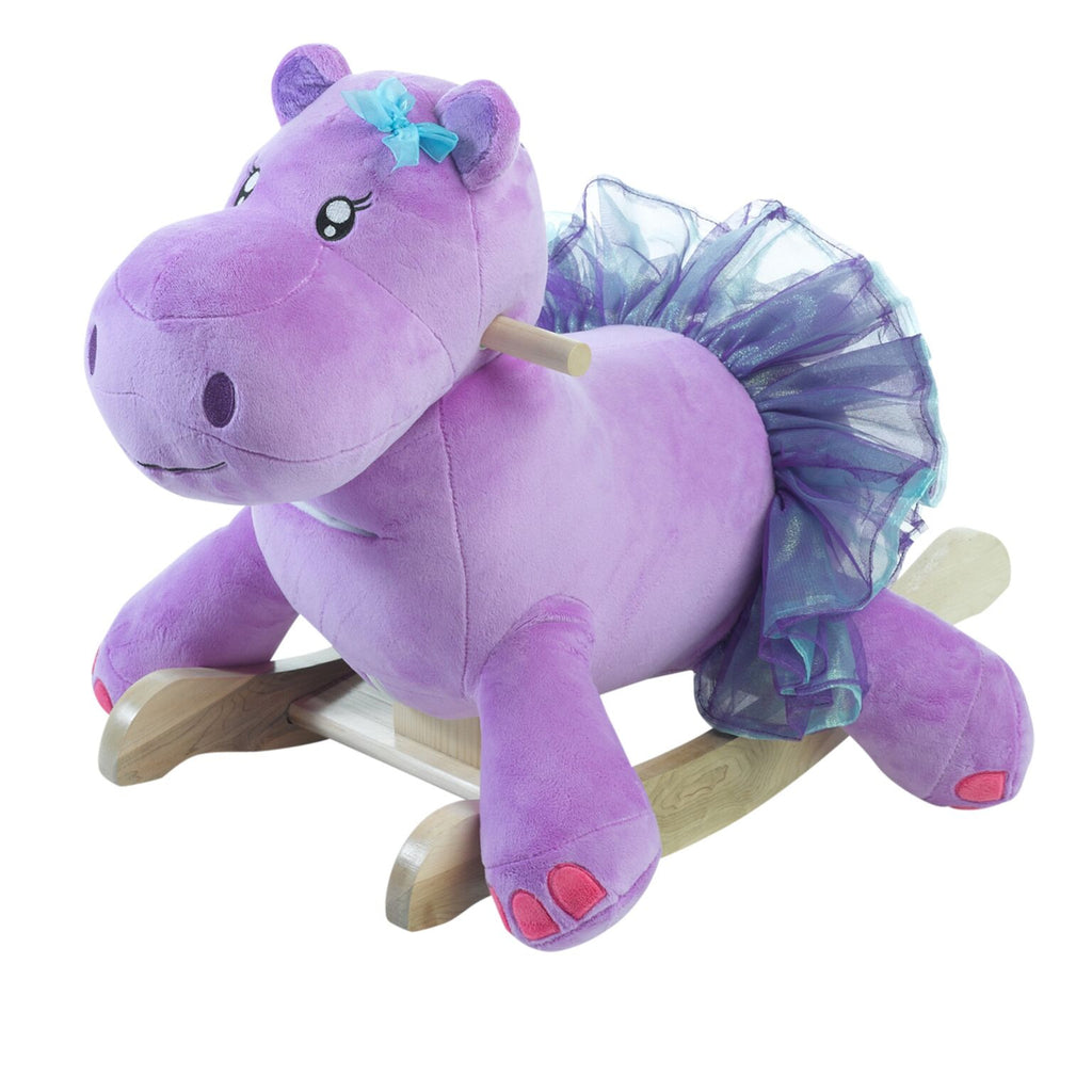 Gracie the Hippo Baby Girl Rocker