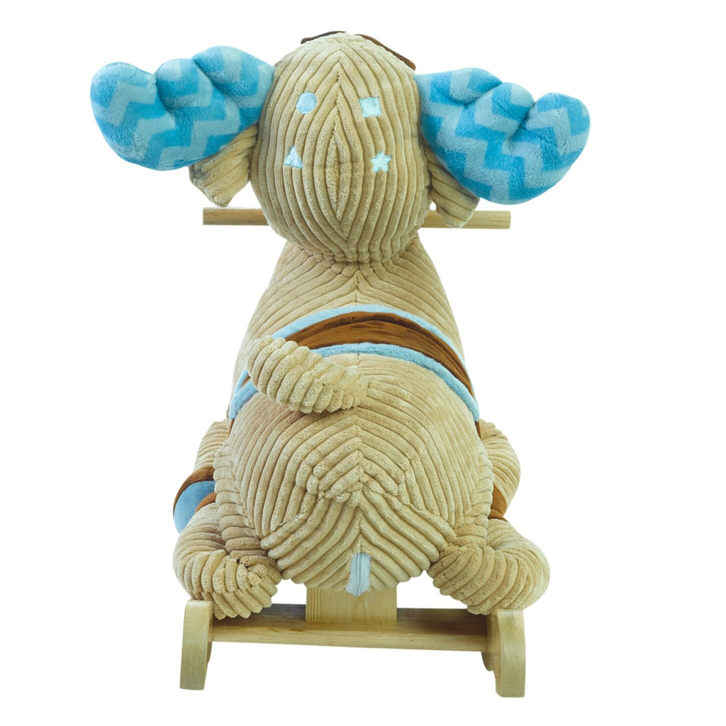 Chocolate Moose Rocker (#RB34) - StorkBabyGiftBaskets - 5