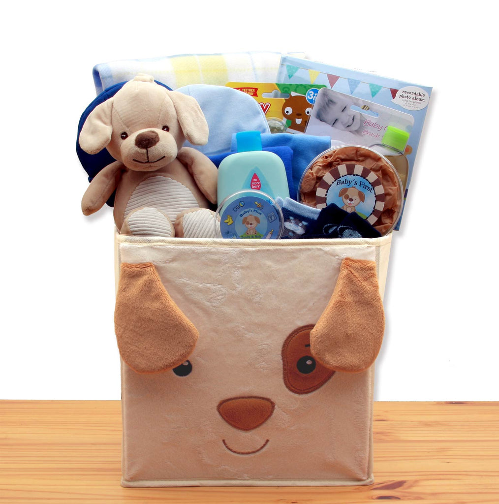 Baby Boy Puppy Gift Hamper (GBDS109)