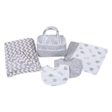 Safari Gray 6 Piece Baby Care Gift Set (#TL213)