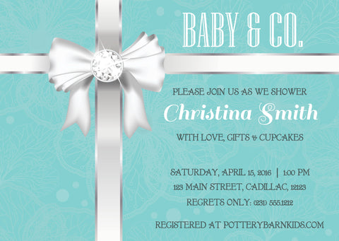 Country Western Baby Shower Invitation (#DIY302)