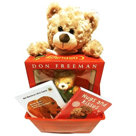 A Beary Special Baby Book Basket