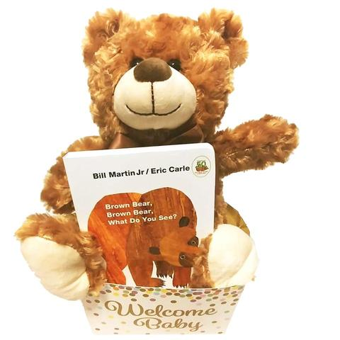Brown Bear Baby Book Gift Set