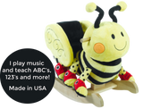 Buzzy Bee Rocker (#RB35) - StorkBabyGiftBaskets - 2