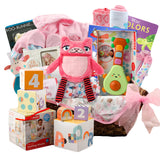 Family Baby Girl Gift Basket
