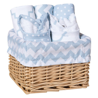 Max Ruffled Trimmed Receiving Baby Blanket (TL130)