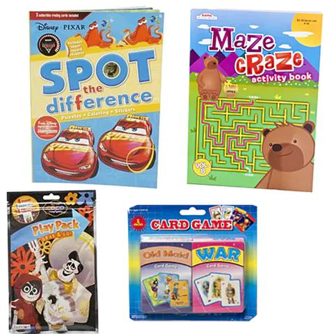 Get Well Fun Activity Gift Basket - Ages 3-10 (#BBB46)