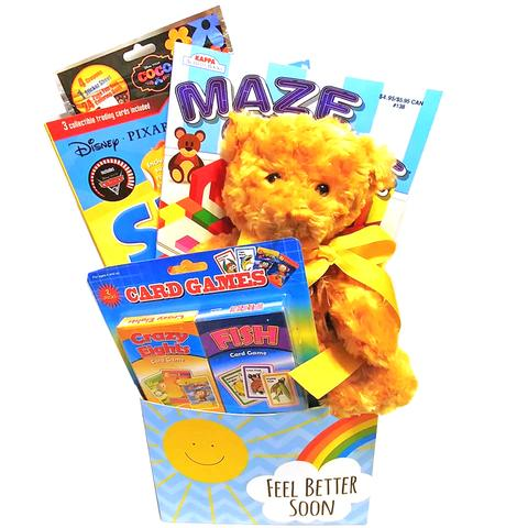 Deluxe Birthday Basket for Boys and Girls Ages 3-9  (#BBB44)
