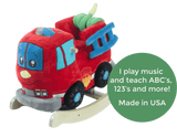 Firefighter Play And Rock (#RB30) - StorkBabyGiftBaskets - 2