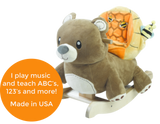 Honey Bear Chair Rocker (#RB28) - StorkBabyGiftBaskets - 2