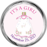 Little Dress - Girl Baby Shower Invitation (#SBGB336)
