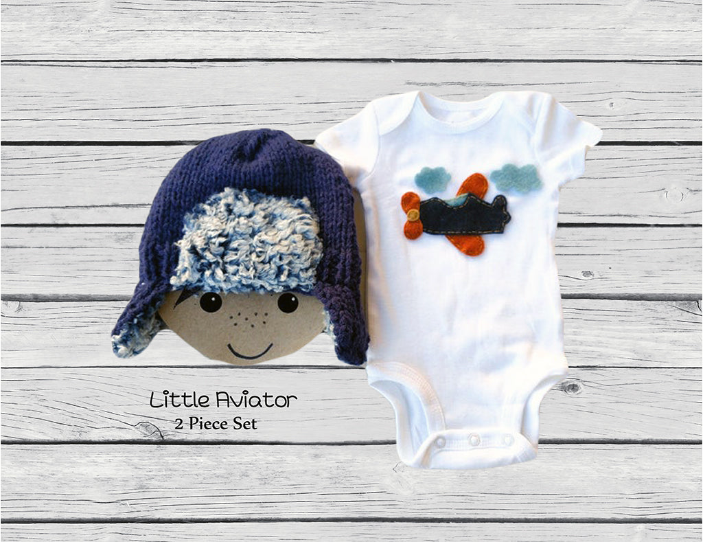 Little Aviator Gift Set - Blue