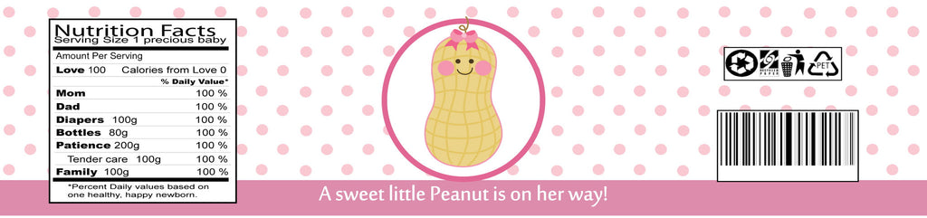 Little Peanut - Girl (#BS-WBL101) - StorkBabyGiftBaskets