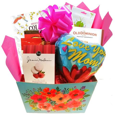 Pampered Sweetkin's Gift Basket - Pink (#CBB190)