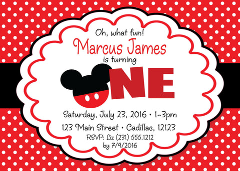 Dr. Seuss Birthday Party Invitation (#KBI109)