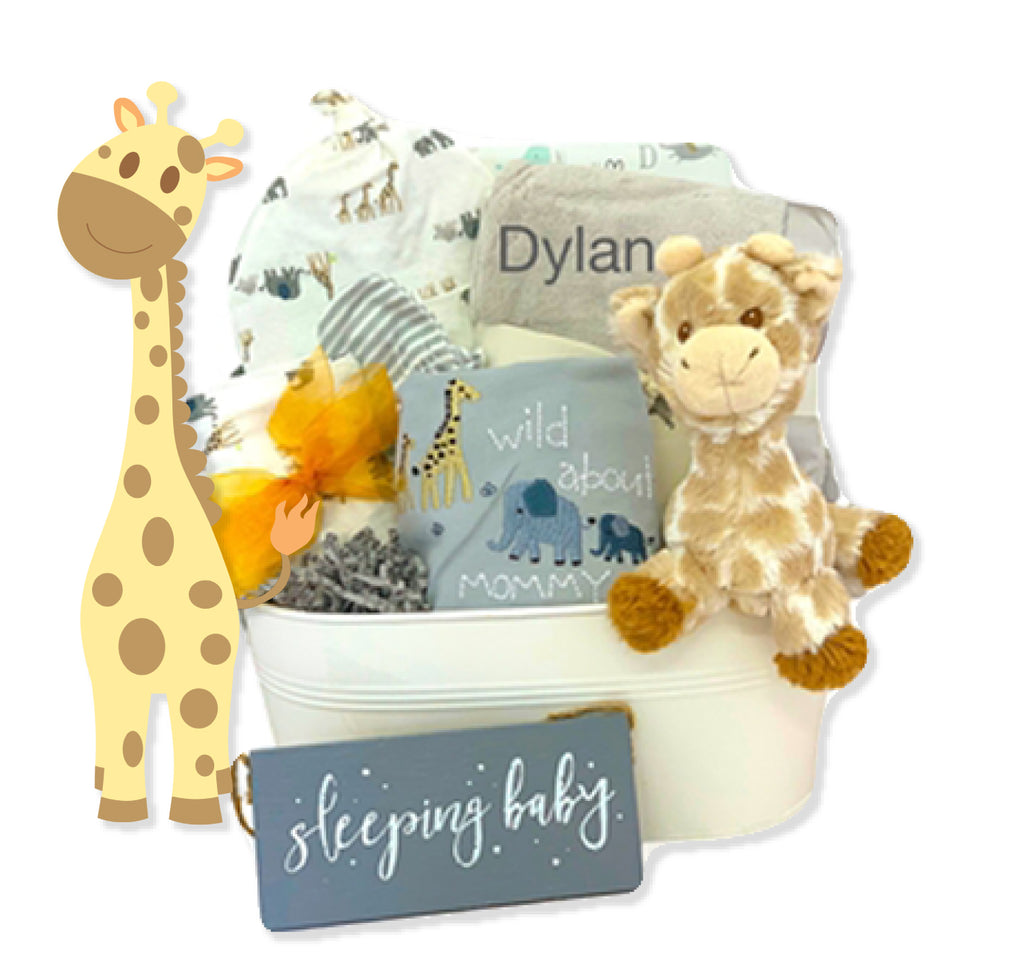 Organic Wild About Mommy Gift Basket