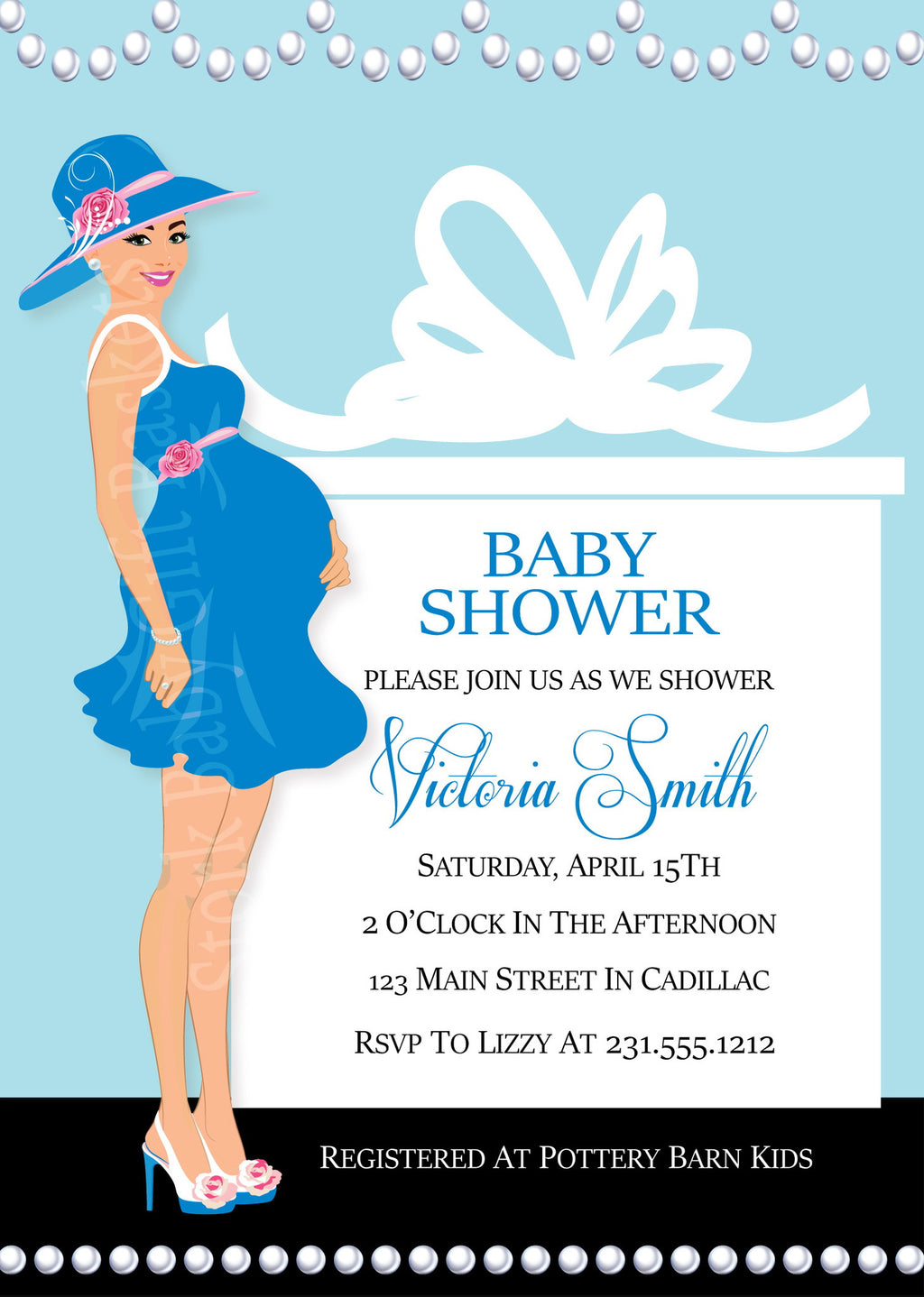 Baby Shower Invitations - Stork Baby Gift Baskets ...
