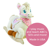 Princess Pony Rocker (#RB20) - StorkBabyGiftBaskets - 2