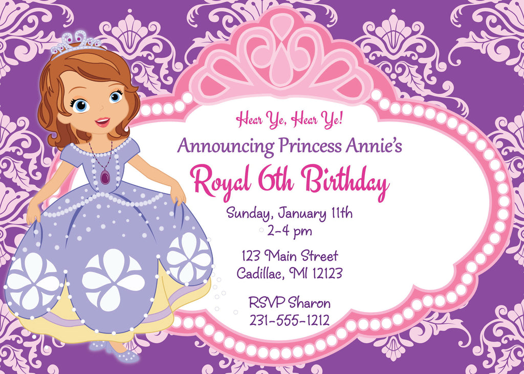 Personalized Kids Birthday Invitations