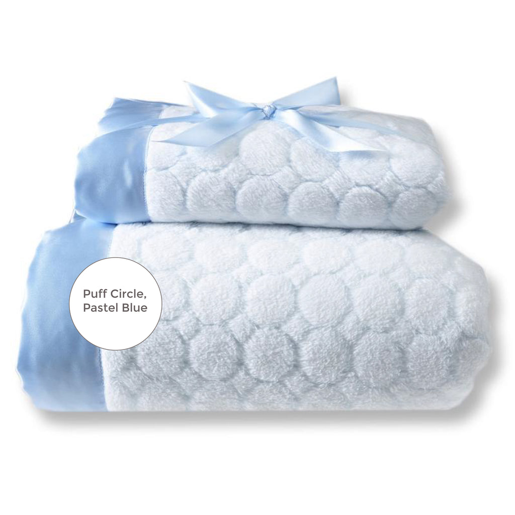 Mommy & Me Puff Circles Blanket Set (#SD-002)