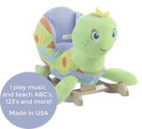Sammie Sea Turtle Rocker (#RB40) - Stork Baby Gift Baskets - 2