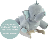 Stomp Elephant Plush Toy Rocker (#RB45) - Stork Baby Gift Baskets - 3